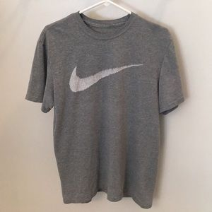 Nike Swoosh White Line Shirt